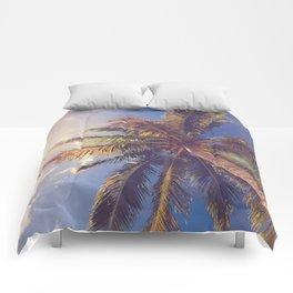 Palm Tree Dreams Comforters