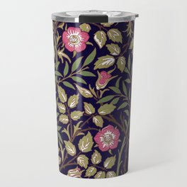 William Morris Sweet Briar Floral Art Nouveau Travel Mug