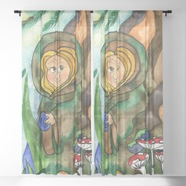 Earthling Sheer Curtain