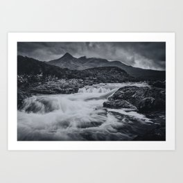 One Day in the Mountains II Art Print