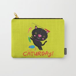 Caturday Series: Kimchi Carry-All Pouch