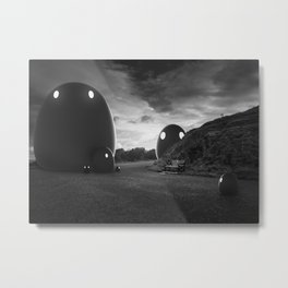 That group of monsters Metal Print