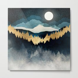 Indigo Night Metal Print
