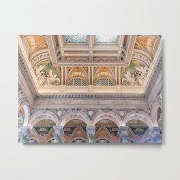 Library of Congress, Washington D.C. Metal Print