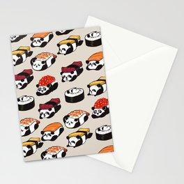 Sushi Panda Stationery Cards