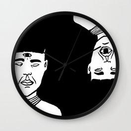 Le troisième oeil Wall Clock