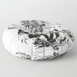 Peggy the Scorpio Floor Pillow