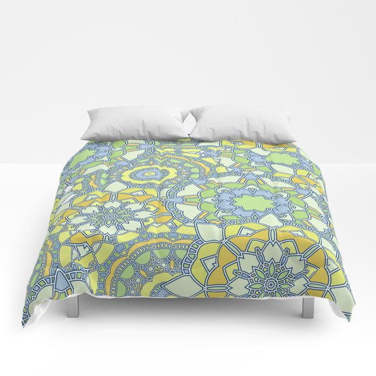 Abstract bright pattern Comforters