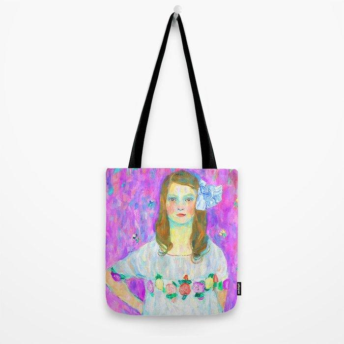 After Klimt - Portrait of Mada Tote Bag