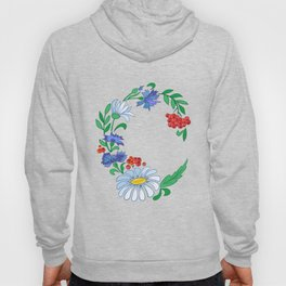 Frame from flowers Hoody