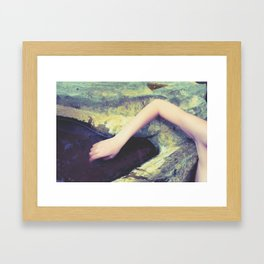 We Held The Summer In Our Hearts Framed Art Print