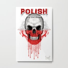 To The Core Collection: Poland Metal Print