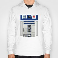 daenerys targaryen Hoodies featuring R2D2 by Smart Friend