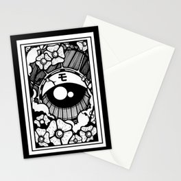 ojo japones Stationery Cards