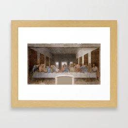 The Last Supper by Leonardo da Vinci Framed Art Print