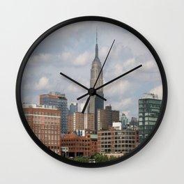 NY city view Wall Clock