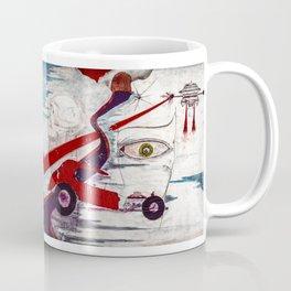 My minds eye when  I was I was eighteen Coffee Mug