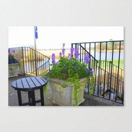Porch View Canvas Print