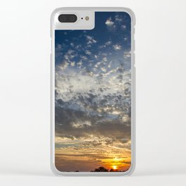 Tiny Clouds Clear iPhone Case