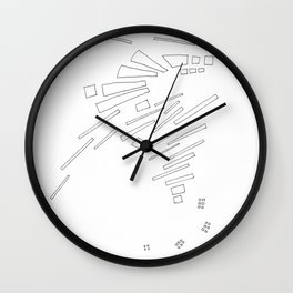 Composition #10 2016 Wall Clock