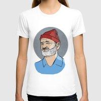 steve zissou T-shirts featuring Zissou by Max the Kid