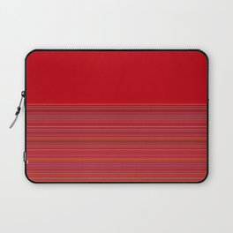 Re-Created  Color Field and Stripes 4 by Robert S. Lee Laptop Sleeve