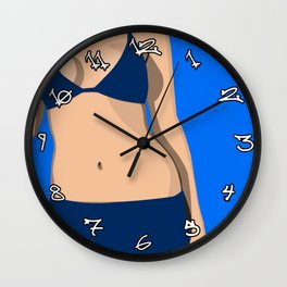 heat Wall Clock