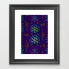 Variations on A Feather IV - Stars Aligned Framed Art Print