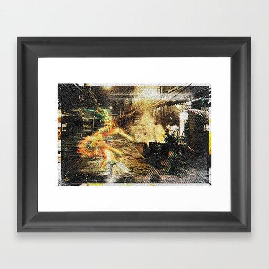 Soi°4^am Framed Art Print