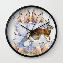 The Visual Perceptions of My Second Self Wall Clock