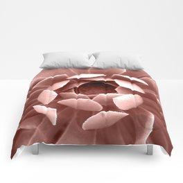 Pink Cactus Comforters