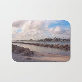 Winter Afternoon, Jupiter Inlet Lighthouse Bath Mat