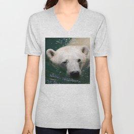 Polar bear's delight Unisex V-Neck