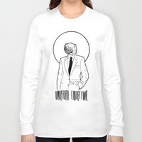 mineral Long Sleeve T-shirts featuring Mineral Man by Ryan Brown