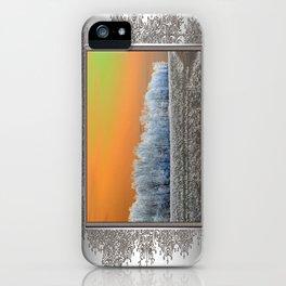 Winter Woods iPhone Case