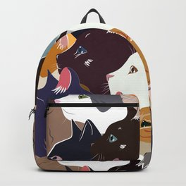 variety of cats Backpack