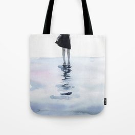 all around the sea Tote Bag
