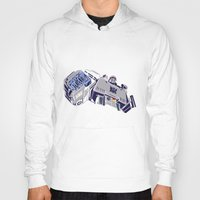 transformers Hoodies featuring Transformers - Megatron by Evan DeCiren