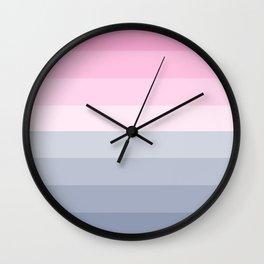 Sea to Sky in Ibiza Wall Clock