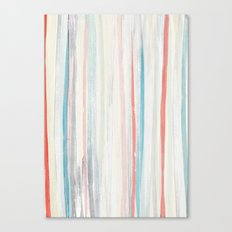 Painterly Stripes Canvas Print