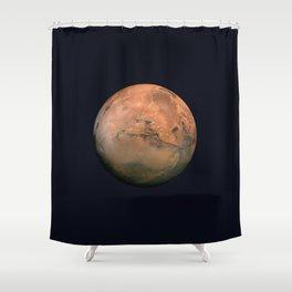 Mars Shower Curtain