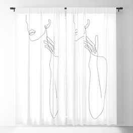 Single Touch Blackout Curtain
