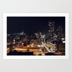 New York City Skyline II Art Print