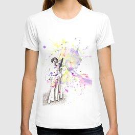 Princess Leia From Star Wars T-shirt