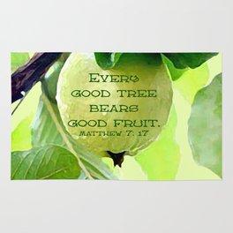 Bear Good Fruit Rug