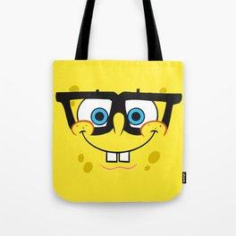 Spongebob Nerd Face Tote Bag