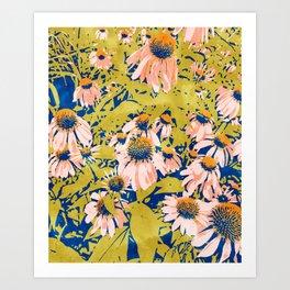 Leah #watercolor #painting Art Print