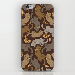 Pizza Cats iPhone Skin
