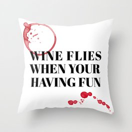 wine bar no. 2 Throw Pillow