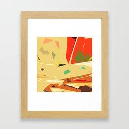 Desert of love Framed Art Print